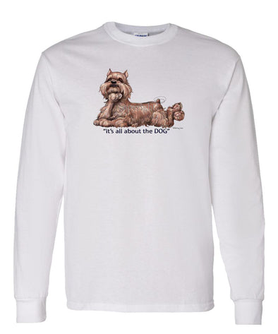 Brussels Griffon - All About The Dog - Long Sleeve T-Shirt