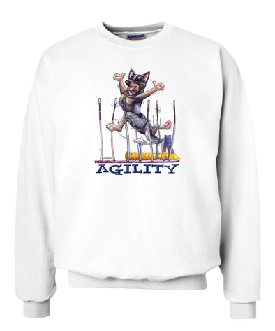 Australian Cattle Dog - Agility Weave II - Sweatshirt