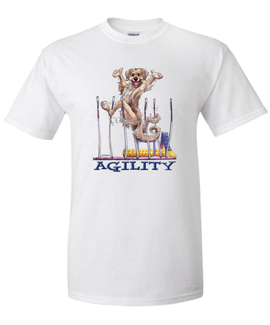 Golden Retriever - Agility Weave II - T-Shirt