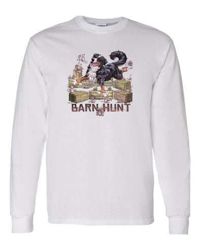 Bernese Mountain Dog - Barnhunt - Long Sleeve T-Shirt