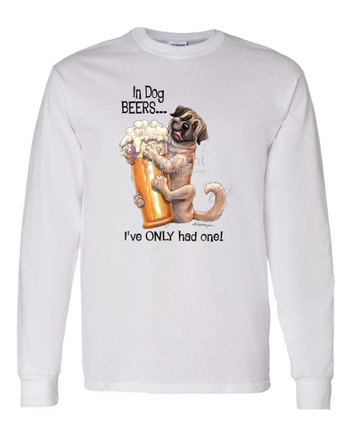 Mastiff - Dog Beers - Long Sleeve T-Shirt