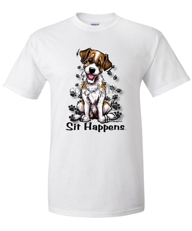 Jack Russell Terrier - Sit Happens - T-Shirt