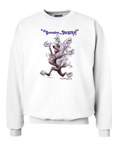 Chinese Crested - Treats - Sweatshirt