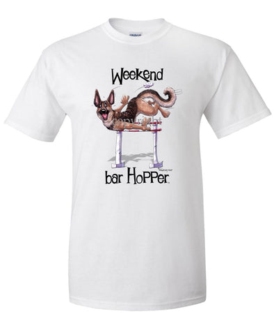 German Shepherd - Weekend Barhopper - T-Shirt