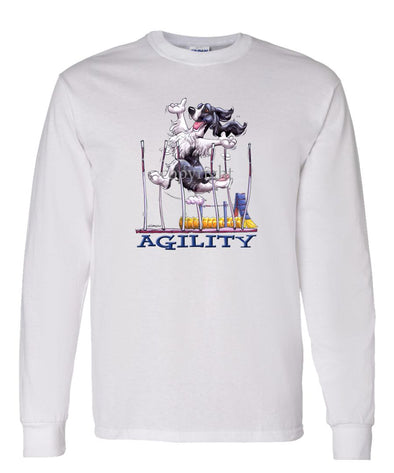 English Springer Spaniel - Agility Weave II - Long Sleeve T-Shirt