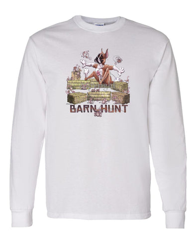 Boxer - Barnhunt - Long Sleeve T-Shirt