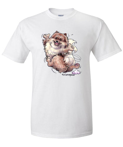 Pomeranian - Happy Dog - T-Shirt