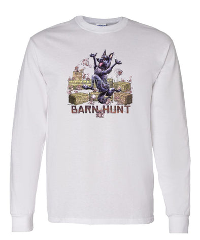 Belgian Sheepdog - Barnhunt - Long Sleeve T-Shirt