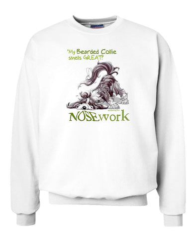 Bearded Collie - Nosework - Sweatshirt