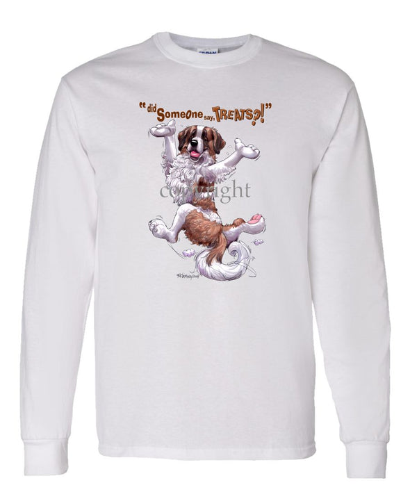 Saint Bernard - Treats - Long Sleeve T-Shirt
