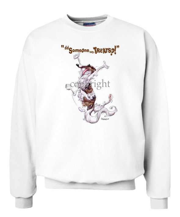 Borzoi - Treats - Sweatshirt