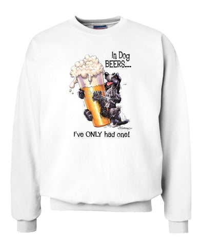 English Cocker Spaniel - Dog Beers - Sweatshirt