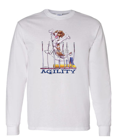 Brittany - Agility Weave II - Long Sleeve T-Shirt