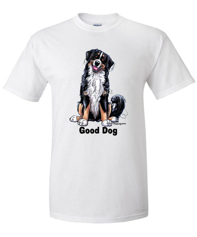 Bernese Mountain Dog - Good Dog - T-Shirt