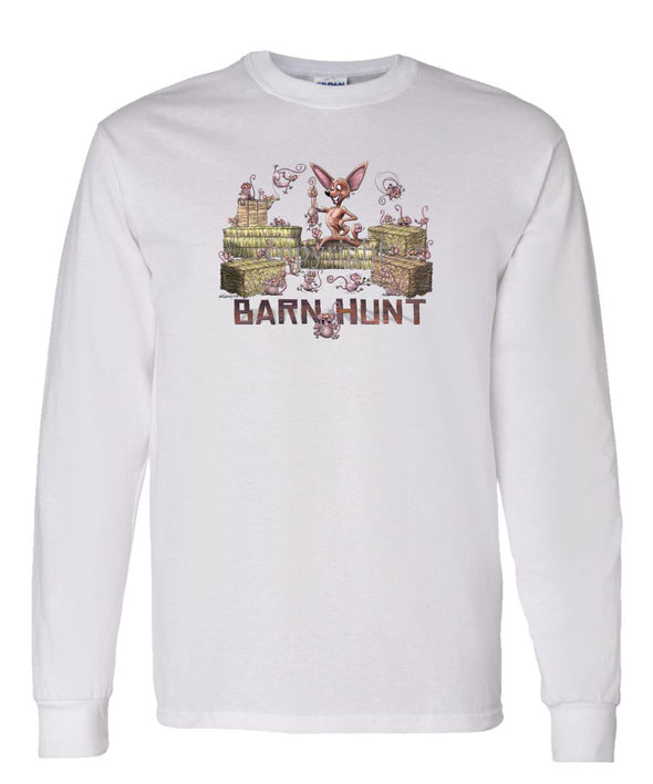 Chihuahua  Smooth - Barnhunt - Long Sleeve T-Shirt