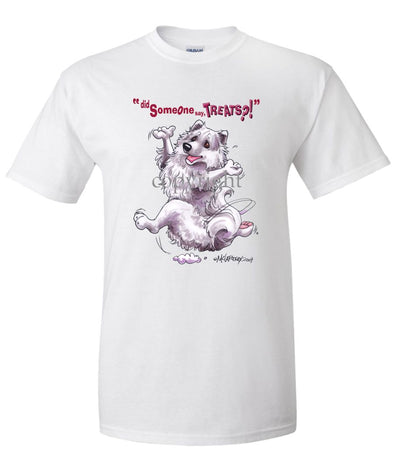 American Eskimo Dog - Treats - T-Shirt