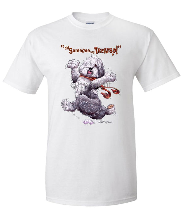 Old English Sheepdog - Treats - T-Shirt