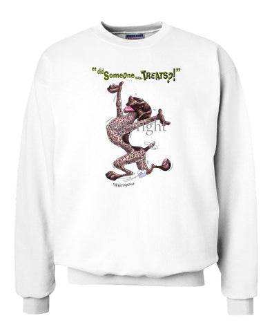 German Shorthaired Pointer - Treats - Sweatshirt
