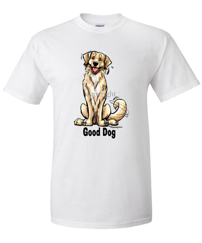 Golden Retriever - Good Dog - T-Shirt
