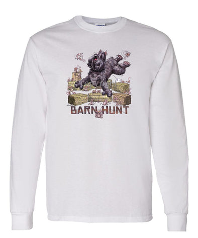 Bouvier Des Flandres - Barnhunt - Long Sleeve T-Shirt