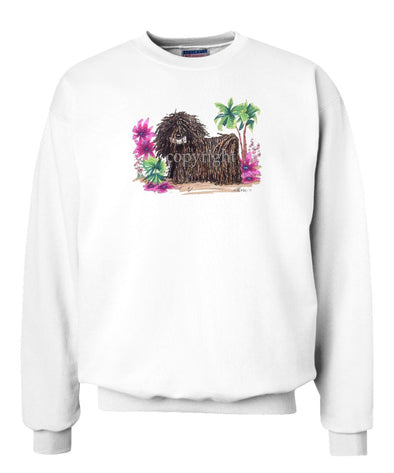 Puli - Tropic Beach - Caricature - Sweatshirt