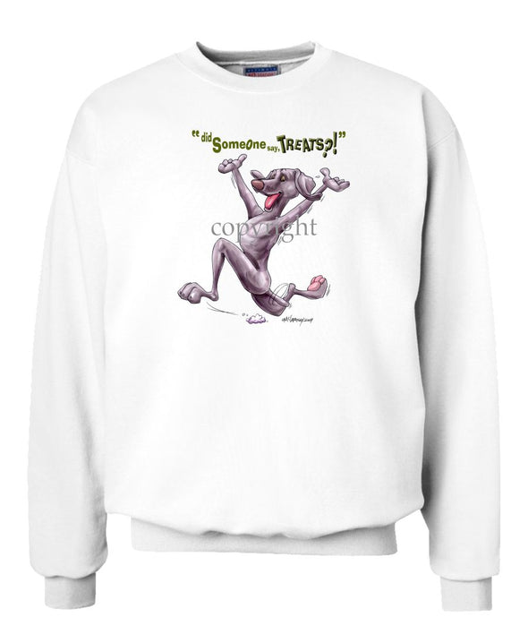 Weimaraner - Treats - Sweatshirt