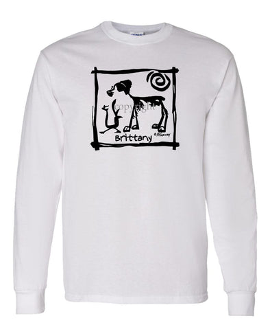 Brittany - Cavern Canine - Long Sleeve T-Shirt