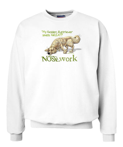 Golden Retriever - Nosework - Sweatshirt