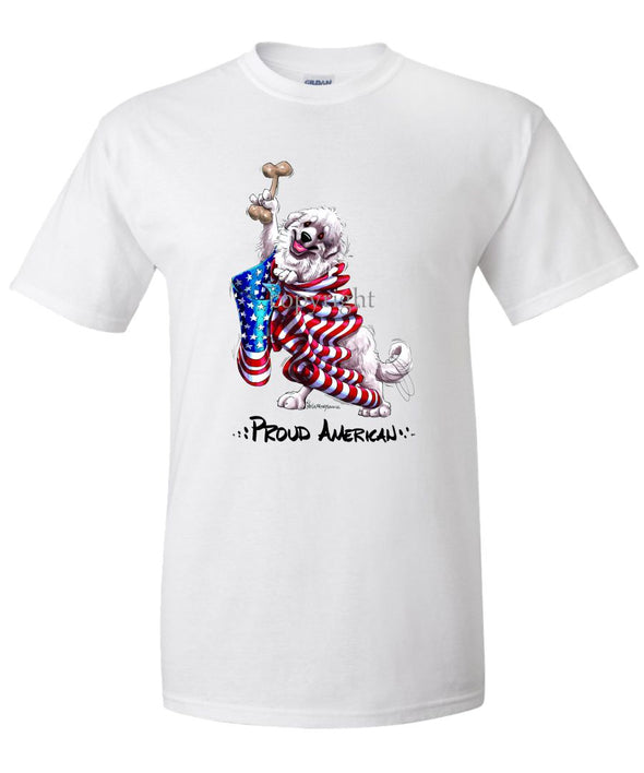 Great Pyrenees - Proud American - T-Shirt