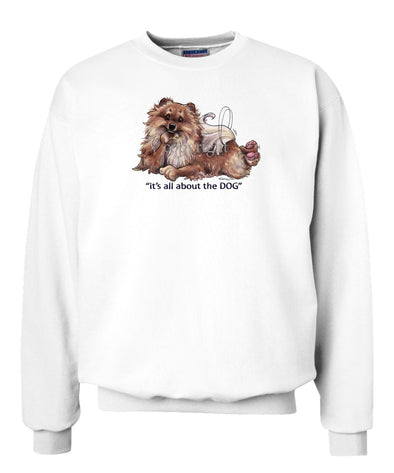 Pomeranian - All About The Dog - Sweatshirt