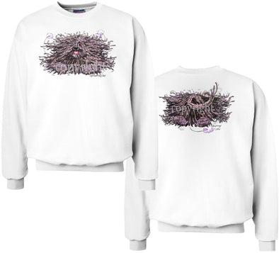 Puli - Coming and Going - Sweatshirt (Double Sided)