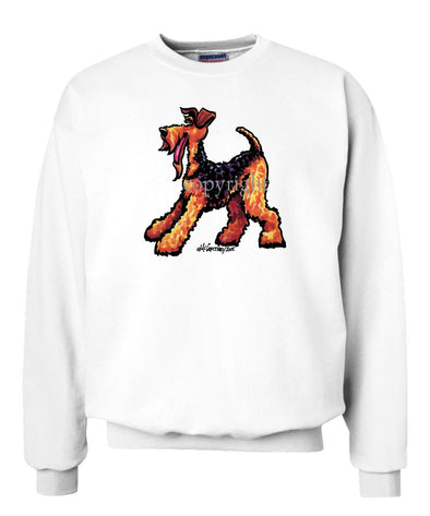 Airedale Terrier - Cool Dog - Sweatshirt