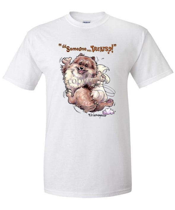 Pomeranian - Treats - T-Shirt