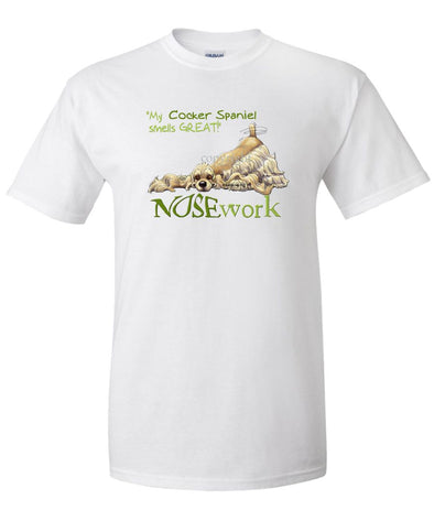 Cocker Spaniel - Nosework - T-Shirt