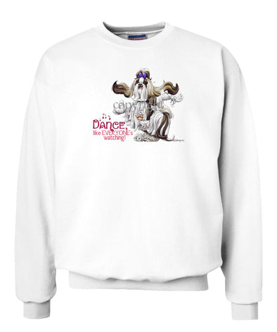 Shih Tzu - Dance Like Everyones Watching - Sweatshirt