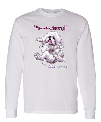 Bichon Frise - Treats - Long Sleeve T-Shirt