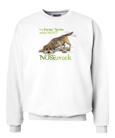 Border Terrier - Nosework - Sweatshirt