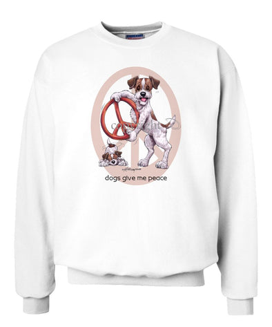 Jack Russell Terrier - Peace Dogs - Sweatshirt