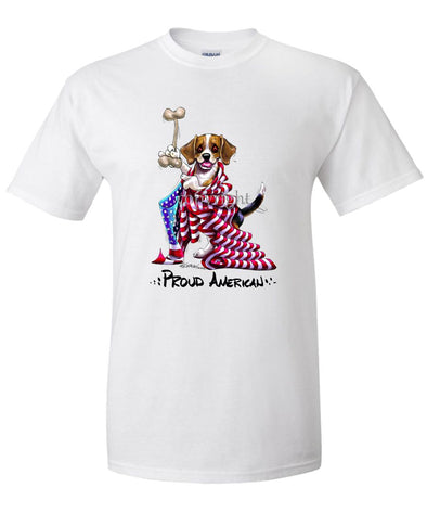 Beagle - Proud American - T-Shirt