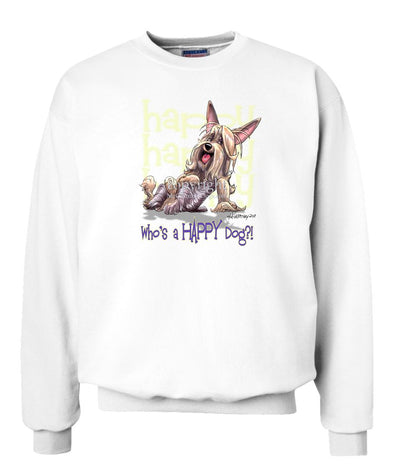 Silky Terrier - Who's A Happy Dog - Sweatshirt
