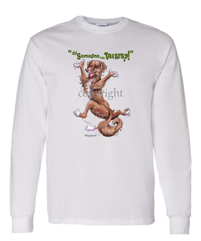 Nova Scotia Duck Tolling Retriever - Treats - Long Sleeve T-Shirt
