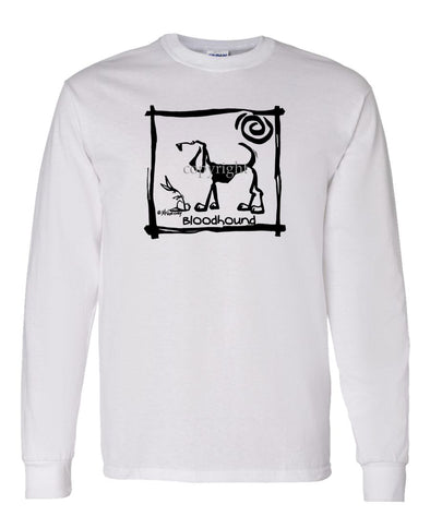 Bloodhound - Cavern Canine - Long Sleeve T-Shirt