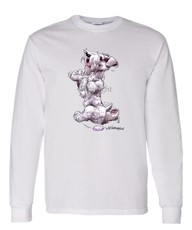 Sealyham Terrier - Happy Dog - Long Sleeve T-Shirt