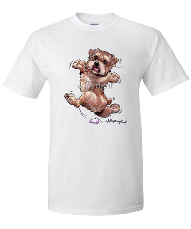 Norfolk Terrier - Happy Dog - T-Shirt