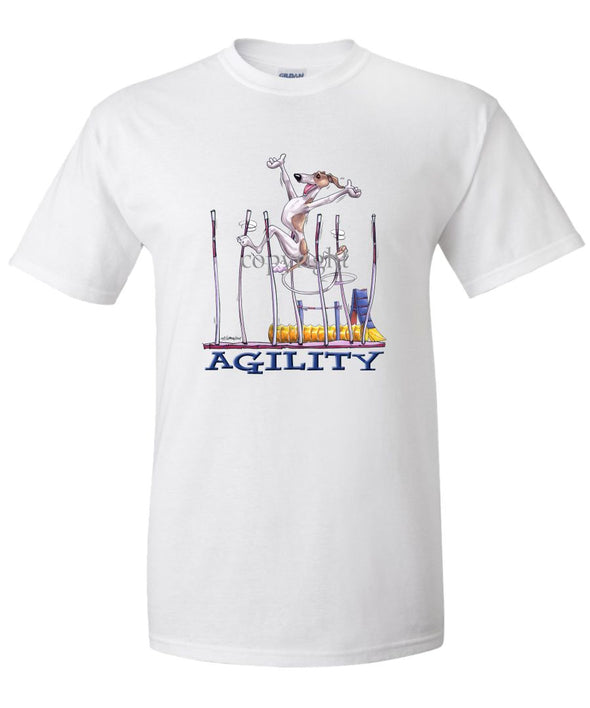 Whippet - Agility Weave II - T-Shirt