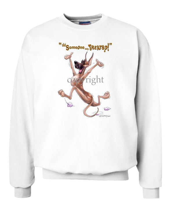 Great Dane - Treats - Sweatshirt