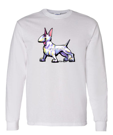 Bull Terrier - Cool Dog - Long Sleeve T-Shirt