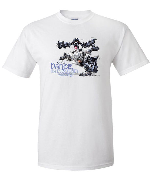 English Cocker Spaniel - Dance Like Everyones Watching - T-Shirt