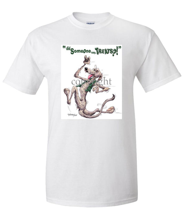 Irish Wolfhound - Treats - T-Shirt