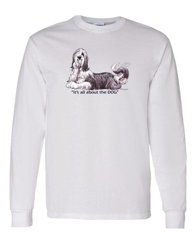 Bearded Collie - All About The Dog - Long Sleeve T-Shirt
